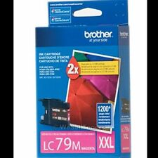 Brother LC79M XXL Magenta Ink Cartridge LC-79 Genuine New Sealed