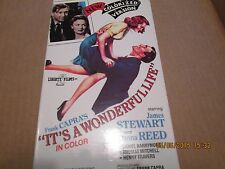 It's a Wonderful Life (1946) $1.99 Vhs Color! Colorized! James Stewart,D.Reed