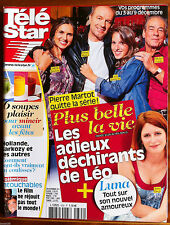 TELE STAR du 28/11/2011; Plus belle la vie/ Intouchable/ Miss France/ PPDA