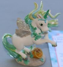 "Unicorn Figurine ""A Pot of Gold at End of Rainbow""; Hamilton Collection (#1352)"