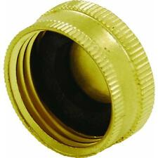 Brass End Cap For Watering Garden Hose GW Borsch DIB05HCC solid heavy duty 48PK