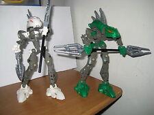 TWO LEGO BIONICLE **RAHKSHI KURAHK 8588 & RAHKSHI LERAHK 8589**