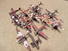 Spanish Civil War Aircraft Collection (13) Built and Painted Models, 1/144 Scale