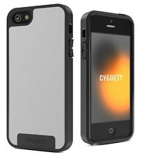Cygnett CY0865CPAPO Apollo Case for iPhone 5/5S/SE White/Grey + Screen Protector