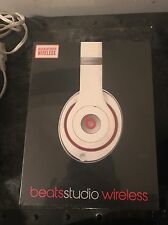 Beats by Dr. Dre Studio Wireless Headband Wireless Headphones - White