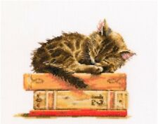 "Counted Cross Stitch Kit RTO - ""Cat's dream"""