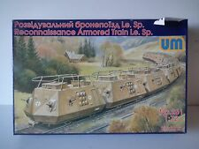 Reconocimiento de Um tren blindado le. SP. Modelo Kit-escala 1/72 - 261
