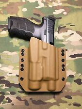 Coyote Tan Kydex Light Holster H&K HK VP9 Threaded Barrel Streamlight TLR-1 TLR1