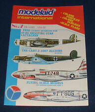MODEL AIRCRAFT MODELAID INTERNATIONAL ISSUE NO.7 - THE CANT.Z.1007 ALCIONE