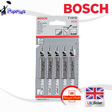 New Genuine Bosch T101D HCS 10~45mm  Clean For Wood-5 Blades Made in Switzerland