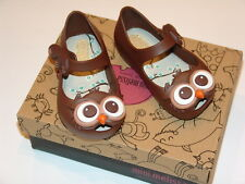 Mini Melissa Ultragirl Brown Owl - toddler size 5 US - NEW