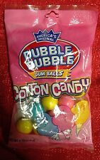 Americas Original Dubble Bubble Cotton Candy Gumballs 4oz Bag Gum Balls