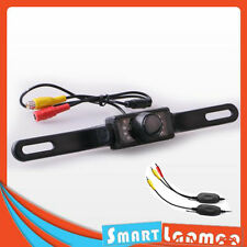 Wireless Car IR Reversing Day Night Video Camera Rear View Backup LED Reverse