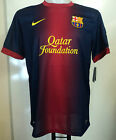 BARCELONA 2012/13 S/S HOME SHIRT BY NIKE SIZE XL BRAND NEW WITH TAGS