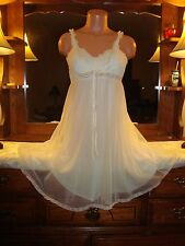 "Olga Double Layer ""Sleeping Pretty""Ladies Babydoll Nightgown Style 9100 Size 34"