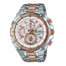 Casio Edifice EFR-539SG-7A5 Rose Gold Stainless Steel Men's Casual Watch