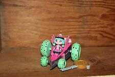 Disney Wreck it ralph Sugar Rush Racers Candlehead Figure Racer Car and Key