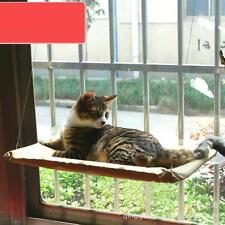 Cat Kitty Basking Window Hammock Perch Cushion Bed Hanging Shelf Seat Mounted AD