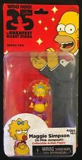 The Simpsons Maggie Simpson (Pink Jumpsuit) Action Figure New 2013 Neca