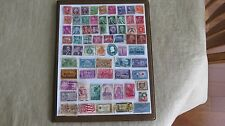 145 UNITED STATES STAMPS OF VARYING VINTAGE