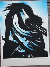 CHRISTOFOROU John - Lithographie signée numérotée le cavalier bleu