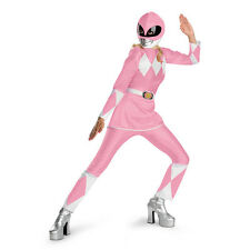 Mighty Morphin Power Rangers Pink Deluxe Adult Costume Size Large (12-14) 50090E