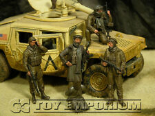 """Custom Built & Weathered 1:35 Deluxe Current Day  """"Captured"""" US Soldier Set (5)"""