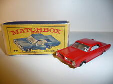 ! Matchbox Regular #22C Pontiac GP Sports Coupe in OVP !