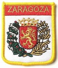 Zaragoza Spain Embroidered Patch - Sew on