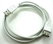 6ft Beige USB 2.0 A male plug to A Female Data transfer Cable extension cord