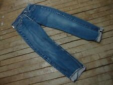 ORIGINAL 1970s 501 RED LINE LEVIS JEANS 66 SINGLE STITCH SELVEDGE ROCKABILLY.10A
