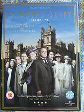 DOWNTON ABBEY SERIES ONE HUGH BONNEVILLE MAGGIE SMITH 12 COVER 3 DVDS