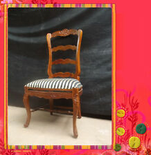 Solid Mahogany French Provincial Furniture Louis Dining Chair