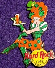 Hard Rock Cafe ONLINE 2002 St. Patrick's Day PIN Sexy REDHEADED Girl New ON-LINE