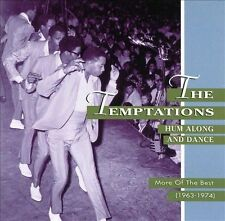 """The TEMPTATIONS """"Hum Along and Dance More of the Best 1963-1974 R&B Motowns Best"""