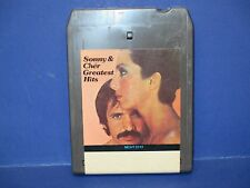 Sony & Cher,Greatest Hits,8 Track Tape,Tested,Beat Goes On,I Got You Babe & More