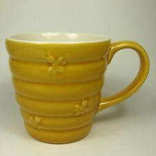 Stonewall Kitchen BUMBLEBEE Mug Yellow Beehive Honeybee Honey Bee Hive