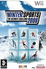 Winter Sports The Ultimate Challenge 2008 (Wii) VGC With Manual
