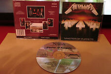 METALLICA - MASTER OF PUPPETS - CD MFN60 mastered BY NIMBUS ENGLAND  RARE!