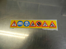 STIHL CUT OFF SAW TS350 TS400 TS410 # 0000 967 3702 OEM WARNING LABEL DECAL