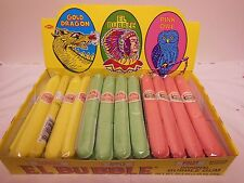 El Bubble Gum Cigars Orig. Retro Party Candy 36 count box Peanut Nut Gluten Free