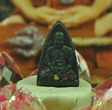 1st Gen Powder Amulet by Lp Somporn embed with small Leklai Thai buddha Talisman