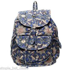 Topshop Backpack Rucksack Blue Navy Bag New with tags RRP 75