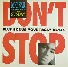 "12"" Maxi-M.C. sar & the real McCoy-Don 't stop-b29-zyx-records"