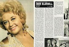 Coupure de Presse Clipping 1976 (4 pages) Joan Blondell