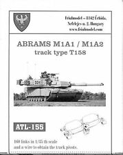 1/35 ATL155 FRIULMODEL TRACKS  for ABRAMS for DRAGON 3535 3531 3536 Kits PROMOTE