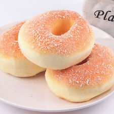 Jumbo Squishy Bagels Bread Breadcrumb Scented Food Simulation Dining Decor Toy