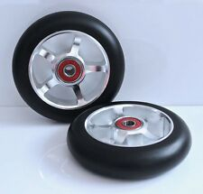 "4"" caster wheels - ""Silver Star"" - for TiLite-Quickie wheelchairs - SHIPS FREE!!"