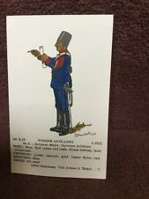 Card Rene North  B 43 Turkish Artillery No 5