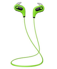 Bluedio S6 Headset Stereo Bluetooth 4.1 Music Sports wireless fit Green Earphone